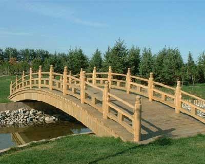 防腐木木桥 4