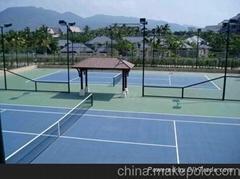 東莞丙烯酸網球場