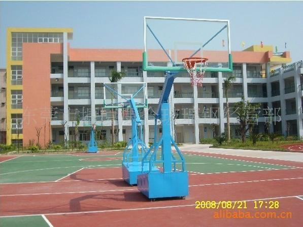 東莞戶外室內移動籃球架 2