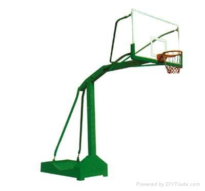 東莞戶外室內移動籃球架 4