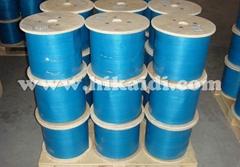 304不鏽鋼鋼絲繩包尼龍,包塑鋼絲繩