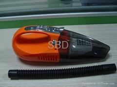 Hot Sale Epoxy Resin Auto Car Vacuum Cleaner Car-base Electric Fashion LED Light