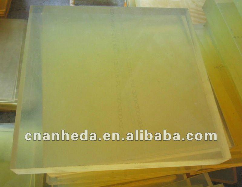 Plastic Pu Polyurethane Sheet Ahd0527004 Ahd China