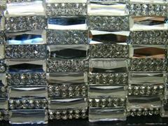 異型龜面鏡片水鑽板鑽水晶寶石手機美容裝飾排鑽背膠網鑽