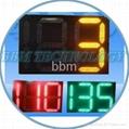 Digital LED countdown timer