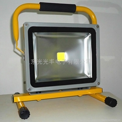 High power outdoor emergency lights LED rechargeable floodlight