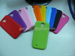 Silicon case soft silicone cover for samsung Samsung Galaxy S4 I9500