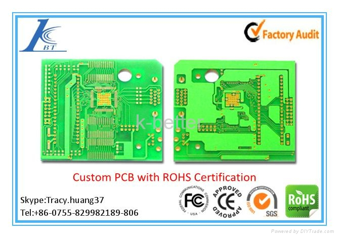 Multilayer circuit board manufacturer, PCB design layout 1