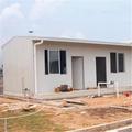 Flat roof prefabricated