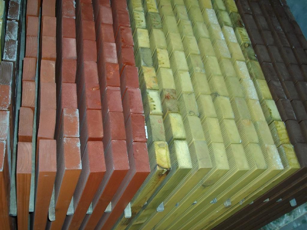 Outdoor Real Wood Flooring
