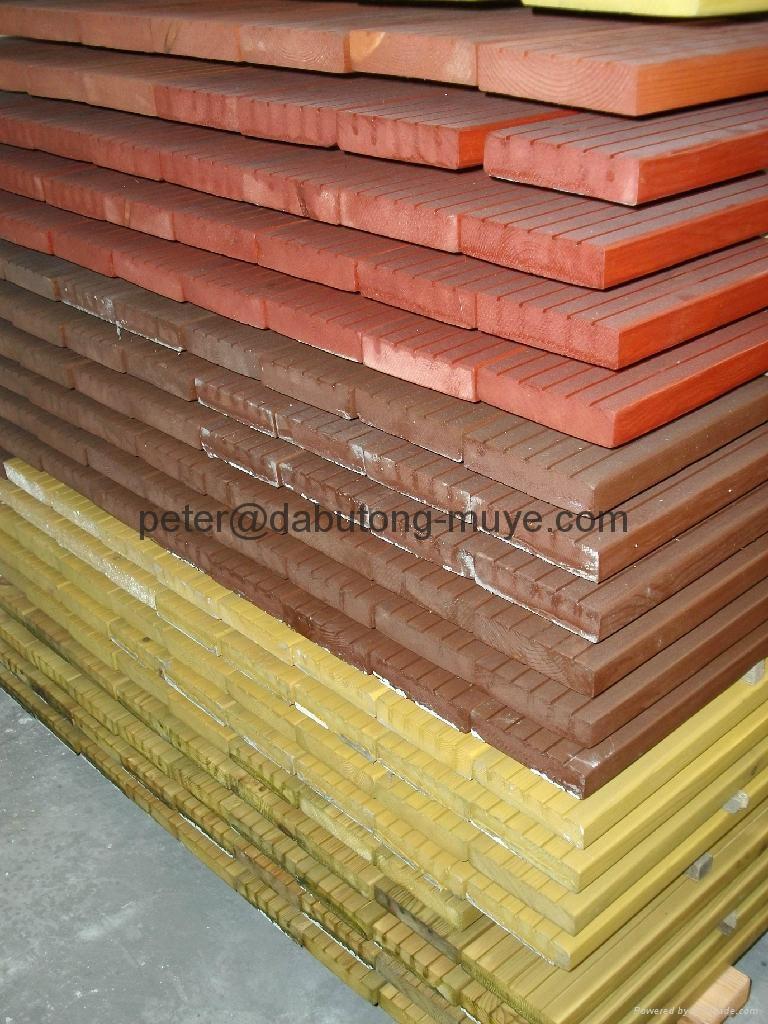 Outdoor Real Wood Flooring Dabutong China Manufacturer