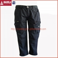 Men's long cargo pant with garment dyed wash