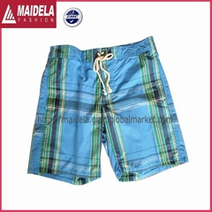 Mens sport shorts with micro polyester peach fabric