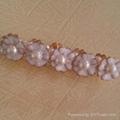 New Fashion Jewelry White Trendy Flower Artificial Pearl Bracelet