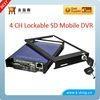 4 Ch Full D1 SD Mobile DVR System For Car mobile camera sytem