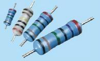 RJ series metal film resistors coated type