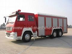 12T 12M3 FOAM SINOTRUK HOWO FIRE TRUCK
