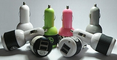 2013 mini car charger for IPOD&Ipone&PDA&mobile phone  ZM005