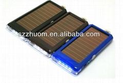 2013 Solar powered portable power socket
