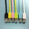 2013 Colorful 3 in 1 USB cable for iPhone ZM-IP5C12A 4