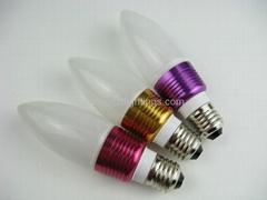 Factory design 3w led candle lights and led bulb lights