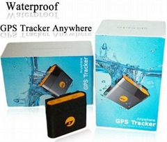 Anywhere TK108 waterproof gps tracker with magnet cover and collar optional