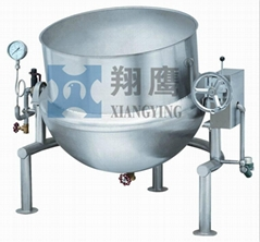 Titlable Steam Jacketed Kettle