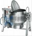 Tiltable Gas Heated Braising  Kettle SUS