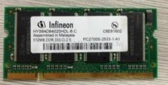 OEM brand laptop memory DDR RAM 1GB 333MHZ
