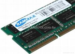 Manufactur offer laptop DDR3 4GB 1333mhz PC10600