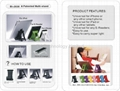 For pad Tablet PC GPS Black Adjustable Universal Car Seat Mount Headrest Holder  3