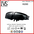 52inch virtual screen video glasses with