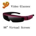 98inch virtual screen 3d video glasses