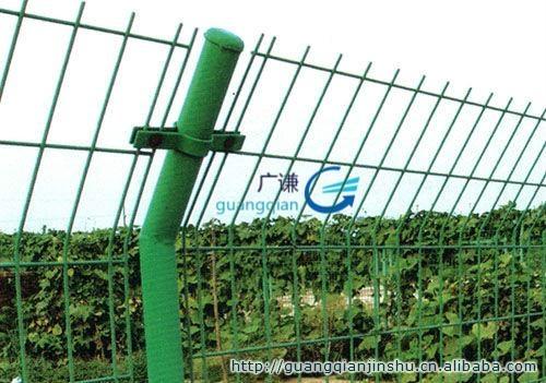 河北安平护栏网厂家|圈山圈地双边现货铁丝网护栏网 3