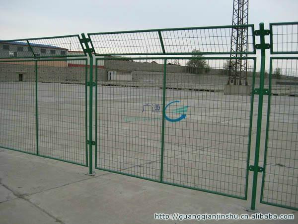 山东济南潍坊厂区场地框架隔离栅护栏网|现货护栏 4