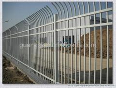 集宁呼市D型防爬静电喷涂小区组装栅栏
