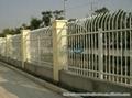 集寧呼市D型防爬靜電噴塗小區組裝柵欄 3