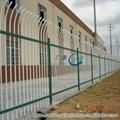 集寧呼市D型防爬靜電噴塗小區組裝柵欄 4