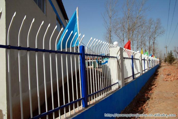 集寧呼市D型防爬靜電噴塗小區組裝柵欄 5
