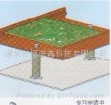 RICHCO抗震和減震電路板隔離柱HSCBS-VD 1
