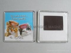 acryl fridge magnet