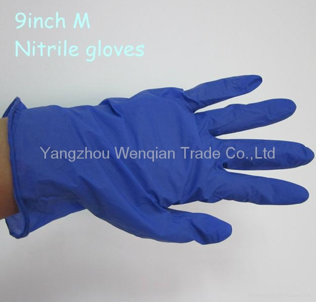 HOT!! Medical disposable nitrile gloves manufacturer from China 1