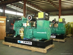 Open Type Cummins Diesel Generators With Fuel Filter
