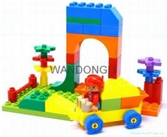 plastic toy building block
