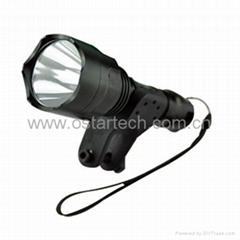 Mounted cycling flashlight Cree xml-t6 led