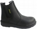 Work Shoes, Man's Safety Shoes, PU