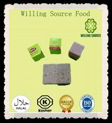Halal mixed bouillon cube with shrimp flavor 10g