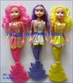 Plastic Fashion Mermaid Toy Dolls