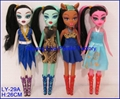 Newest Plastic Monster Toy Dolls