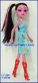Plastic Fashion Music High Doll For Girls 3